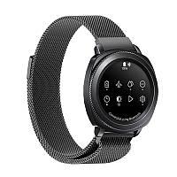 Миланский сетчатый ремешок Primo для часов Samsung Gear Sport (SM-R600) - Black