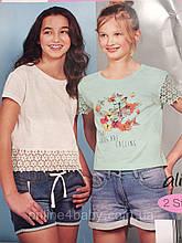 Набор детских футболок Alive на девочку 5-6 лет, рост 116