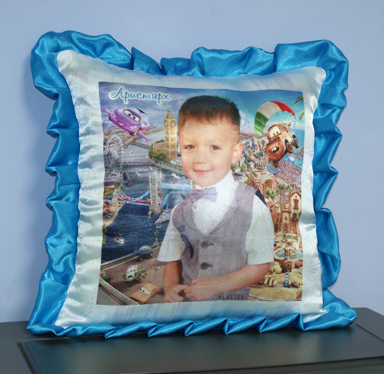 Подушка Тачки Маквин мальчику