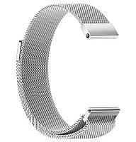 Миланский сетчатый ремешок Primo для часов Samsung Gear Sport (SM-R600) - Silver