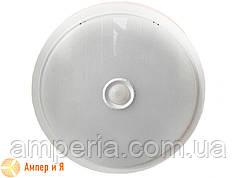 Светильник накладной с датчиком движения LED-NGS-03R 12W, круг 4000K 960 Lm NIGAS