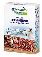 Органическая детская каша Гречневая на козьем молоке, Fleur Alpine, 200 гр