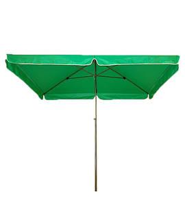 Зонт торговый, 2х3 м. напыление UV-Stop, Клапан, 4 спицы