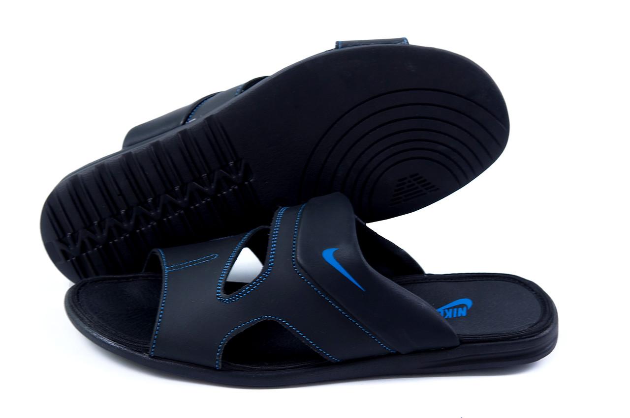 b51cd206 Купить сейчас - Мужские кожаные летние шлепанцы-сланцы Nike Classic ...