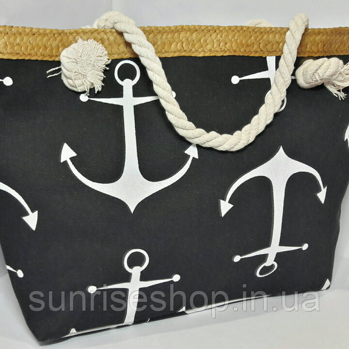Пляжна сумка Морський принт опт