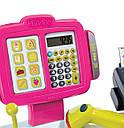 Каса електронна з аксесуарами та сканером Smoby 350108, фото 5