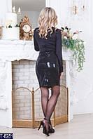 Коктейльное платье T-8281 (S, M, L) — купить Вечерние платья оптом и в розницу в одессе 7км