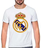 "Футболка мужская ""Real Madrid"" XS/S/M/L/XL/XXL"