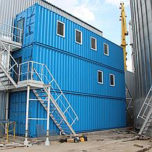 Модульный офис-лаборатория