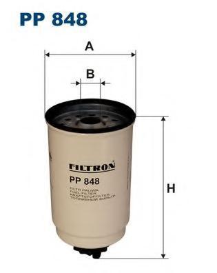 FUMOD FF829 Фільтр паливний FORD TRANSIT