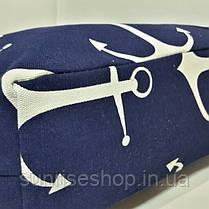 Пляжная сумка Морской принт опт и розница, фото 3