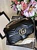 Женская Сумочка на плечо Gucci 'GG Marmont' 26 cm (реплика)