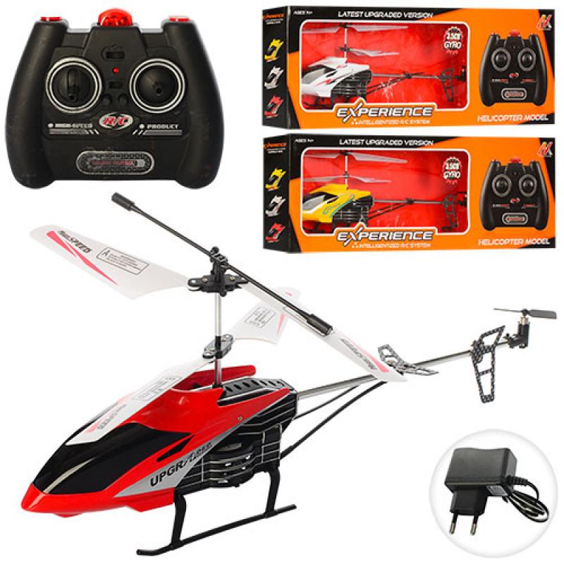 Вертоліт X988 радіокерований, на акумулятор, гіроскоп, світло, 3,5 канали, 3 кольори, в коробці, 51-18-8 см.