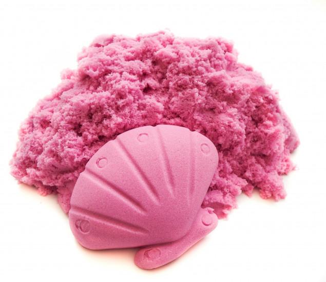 Кинетический песок розовый 500гр 122982