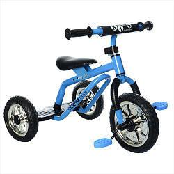 Трехколесный велосипед детский Profi Kids M 0688-4 для самостоятельной езды Blue