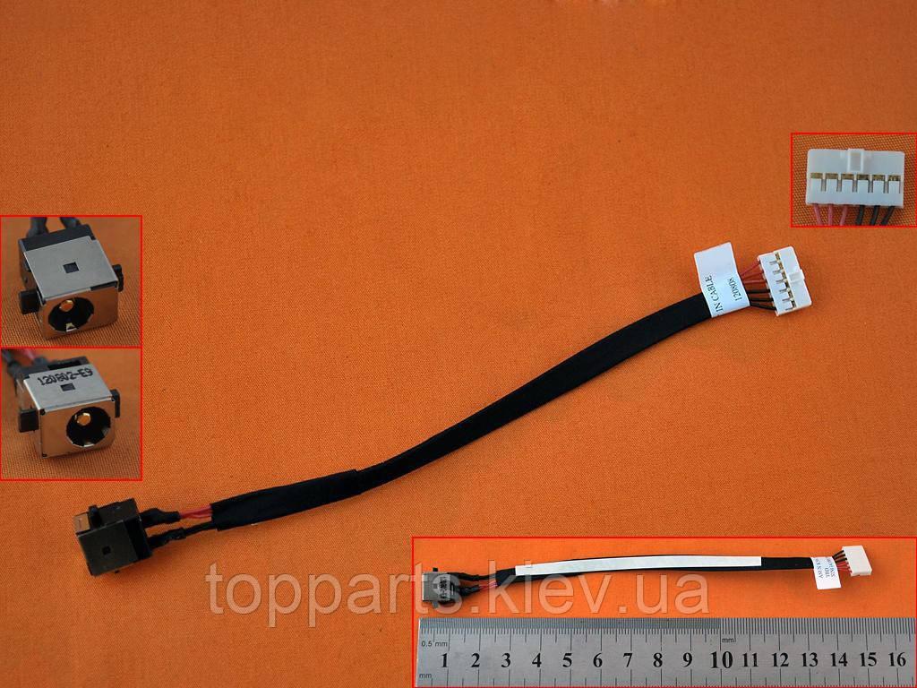 Разъем питания с кабелем для Asus 1417-007P000 (5.5mm x 2.5mm), 6-pin,