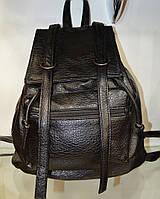 Рюкзак модный молодежный  для девушки черного цвета