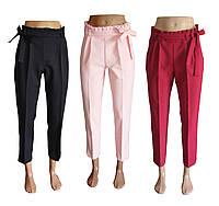 Брюки женские с рюшей. Модная новинка летние брюки., фото 1
