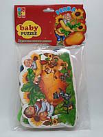 Игра VladiToys Пазлы Baby puzzlе (VT1106-34) Сказка Репка