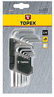 Ключи шестигранные Topex 35D955, фото 1