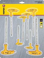 Ключи шестигранные с Т-образной ручкой Topex 35D967, фото 1