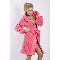 Коралловый махровый халат в категории халаты женские в Украине ... 9d1ff0d69469b