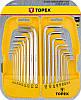 Шестигранные ключи и Torx Topex 35D953
