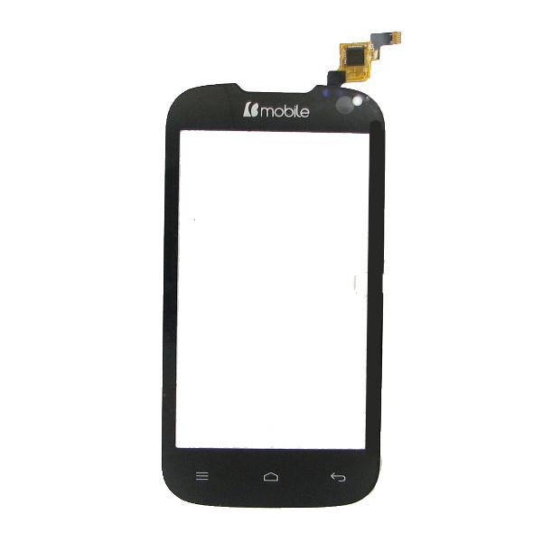 Сенсорный экран для смартфона Nomi i401 Colt, тачскрин черный, # Y106060E1-R