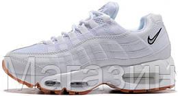 dfa90329f83e Женские кроссовки Nike Air Max 95 Essential White (Найк Аир Макс 95) в стиле