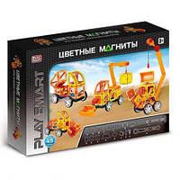 Магнитный конструктор PlaySmart (45 деталей) арт. 2428