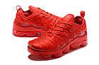 """Мужские кроссовки Nike Air VaporMax Plus """"Red"""" (в стиле Найк Вапормакс Плюс) красные, фото 4"""