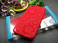 Полимерный TPU чехол Cocose iPhone 6 / 6s (красный), фото 1