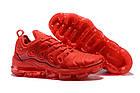 """Мужские кроссовки Nike Air VaporMax Plus """"Red"""" (в стиле Найк Вапормакс Плюс) красные, фото 2"""
