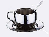 Чашка для кофе с блюдцем KINGHoff KH-3731