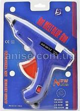 Пистолет клеевой, термопистолет для рукоделия под стержни 11 мм, 60 W. YC-8 Гарантия качества