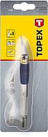 Нож моделиста, 3 лезвия Topex 17B703