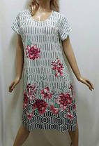 Туника женская,платье большого размера микро-масло, от 52 до 58 р-ра,  Харьков, фото 2