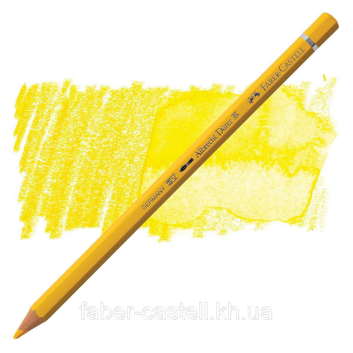 Карандаш акварельный цветной Faber-Castell A. Dürer тёмно-кадмиевая желтизна   (Dark Cadmium Yellow)  № 108