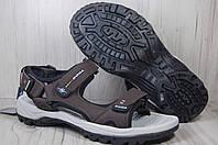 BONA лёгкие мужские сандалии коричневые, фото 1
