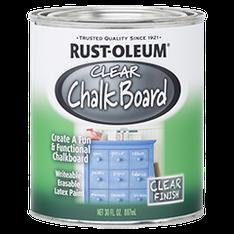 Грифельная краска Rust Oleum (Chalkboard) Прозрачная, 0,946л