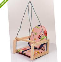 Качели детская деревянная  V 701-1 ***