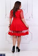 Платье T-9270 (48, 50, 52, 54, 56, 58) — купить Платья XL+ оптом и в розницу в одессе 7км