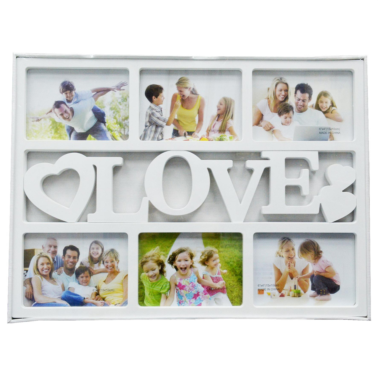 "Мультирамка ""LOVE"" — Фоторамка колаж"