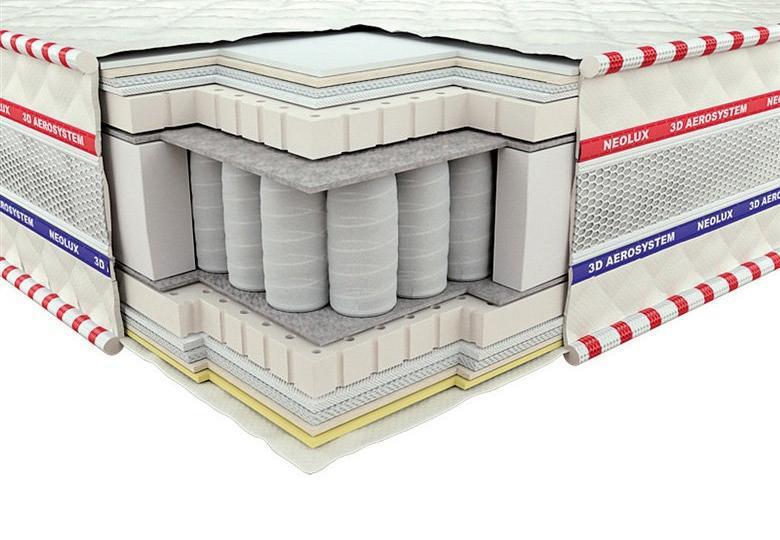 Ортопедический матрас 3D Империал Латекс Зима-лето PS 180х190