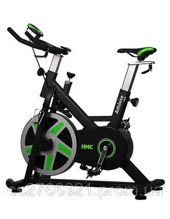 Велотренажер Spin Bike профессиональный HMC 5006 Athlete, фото 2