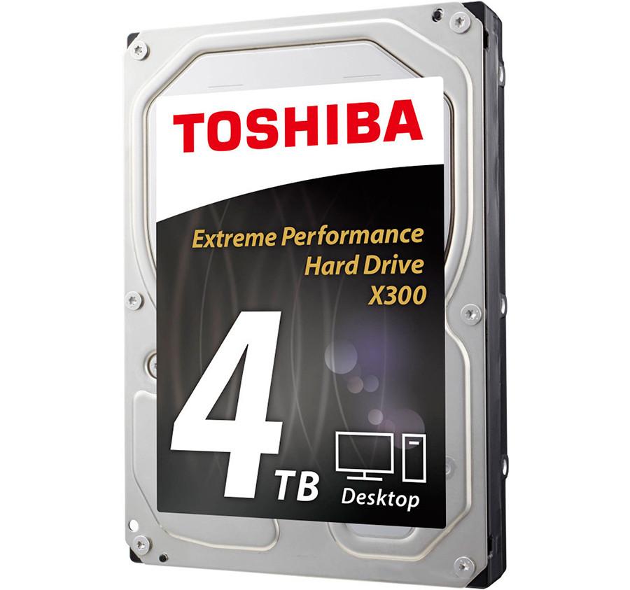 Жесткий диск 4 Tb Toshiba High-Performance X300, SATA 3, 128Mb, 7200 r