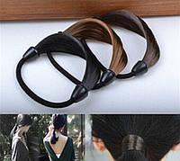 Резинка из искусственных волос на жгутике, фото 1