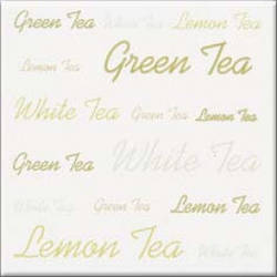 Aplauz Tea bialy centro 10*10 (декор)