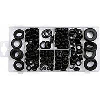 Сальники резиновые разных размеров набор 180шт YATO (YT-06878)
