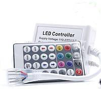 Контролер для світлодіодної стрічки Biom 220В RGB 800W з RF пультом